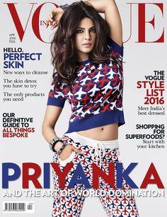 Vogue India April 2016 Cover