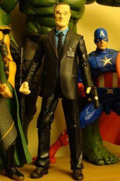 Avengers Movie Agent Coulson Custom (Avengers) Custom Action Figure