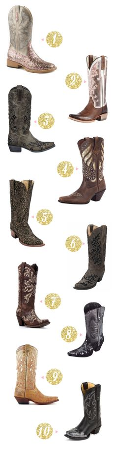 10 Sparkly Boots To Start The New Year
