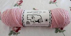 2 skeins Top of the Lamb Brown Sheep Co 100% Worsted Wool Pink 622 Primrose 4 oz-190 yd each #yarn