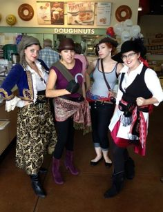 Tis a crew of pirates that claimed their bounty today.
