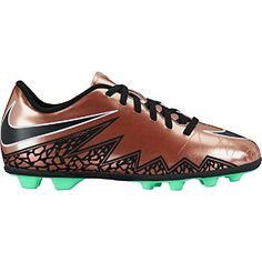 3eccdd978 Amazon.com | Nike Junior HyperVenom Phade II Kids Firm-Ground Soccer Cleat  | Soccer