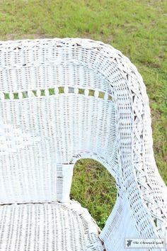 Spray Paint Wicker Chair Lovely How to Spray Paint Wicker Furniture – the Crowned Goat Wicker Dresser, Wicker Couch, Wicker Trunk, Wicker Mirror, Wicker Headboard, Wicker Shelf, Wicker Bedroom, Wood Nightstand, Wicker Table