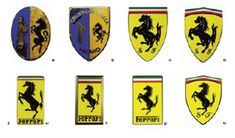 Ferrari Logo Evolution