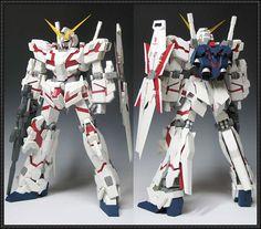 RX-0 Unicorn Gundam Ver.5 Free Papercraft Download - http://www.papercraftsquare.com/rx-0-unicorn-gundam-ver-5-free-papercraft-download.html