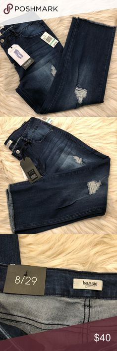 Spotted while shopping on Poshmark: Kensie Crop Jeans! #poshmark #fashion #shopping #style #Kensie #Denim