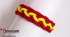 Pineapple knot paracord bracelet tutorial.