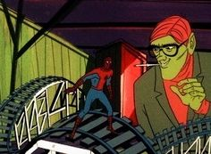 Psychedelic Spider-Man - & seasons produced by Ralph Bakshi Ralph Bakshi, Spider Man 2, Twilight, Marvel, Cartoon, Fictional Characters, Engineer Cartoon, Cartoons, Fantasy Characters