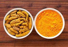 Envases con tumeric - Hierbas y especias podrían equilibrar las hormonas