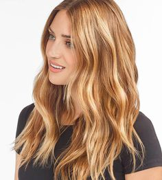 Golden Blonde Balayage for Straight Hair - Honey Blonde Hair Inspiration - The Trending Hairstyle Red Hair With Blonde Highlights, Honey Blonde Hair, Reddish Blonde Hair, Golden Blonde, Copper Blonde Hair Color, Copper Blonde Balayage, Dark Strawberry Blonde Hair, Carmel Blonde Hair, Strawberry Blonde Highlights
