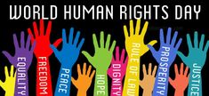 Human Rights Day, created by the United Nations, promotes awareness of the importance of Human Rights issues around the world. Human Rights Quotes, Human Rights Day, Citizenship Education, Education Posters, Declaration Of Human Rights, United Nations General Assembly, Amnesty International, International Days, Nobel Peace Prize