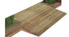 The 5 Foot Wide Wood Ramp from Little Cottage Company will make it easy to get access to your shed. Made of treated wood. Shed Landscaping, Backyard Sheds, Outdoor Sheds, Garden Sheds, Cedar Shed, Wood Shed, Garden Shed Interiors, Shed Ramp, Shed House Plans