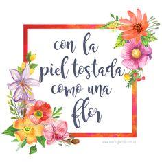 Con la piel tostada como una flor: Venezuela. Varios productos en mi tienda: franelas, artículos de hogar, estuchitos, cojines... Envíos a todo el mundo