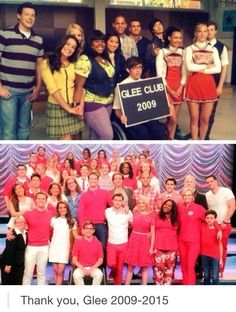 Thank you glee!