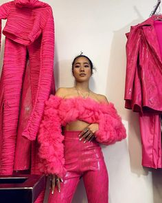 "TLZ L'FEMME on Instagram: ""ISSA TULLE PARTY!!! W/ @evilfoxxy23 N THE LATEST #tlzlfemme PNK ENSEMBLE!!!"" High Fashion, Fashion Show, Fashion Outfits, Fashion Trends, Fashion Design, Fashion Killa, Fashion Beauty, Fashion Looks, Fashion Project"
