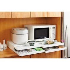 ディノス(dinos)オンラインショップ、こちらは家電周りでの調理をサポートするレンジ下スライドテーブル 引き出し付き 幅80cmの商品ページです。商品の説明や仕様、お手入れ方法、 買った人の口コミなど情報満載です。
