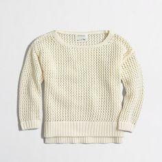 J.Crew+Factory+-+Factory+girls'+beach+sweater