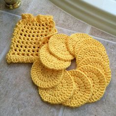 Excited to share the latest addition to my #etsy shop: Cotton face pads, set of 10, crocheted laundry bag, facial care, reusable, eco friendly, mini wash cloths, face cloths, spa pads, makeup off http://etsy.me/2DsO0zp #bathandbeauty #washcloth #linen #crochetbags