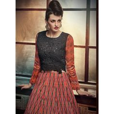 Red And Black Designer Lehengas Online Shopping ,Indian Dresses - 2