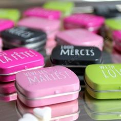 """Mini boite bonbons """"vive les mariés !"""" - Les Petits Cadeaux"""