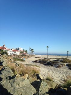 """Voted America's best beach for 2012 by Stephen """"Dr. Beach"""" Leatherman, Coronado Municipal Beach is adored by locals and tourists equally. #MyHometownPins"""