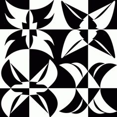 The October challenge for the Fast Friday Fabric Challenge group is Notan. Here's the challenge description: Notan is a Japanese concept that utilizes black and white to demonstrate the con… Op Art, Notan Design, Notan Art, Group Art Projects, Tesselations, Composition Art, Moroccan Pattern, Positive And Negative, Negative Space