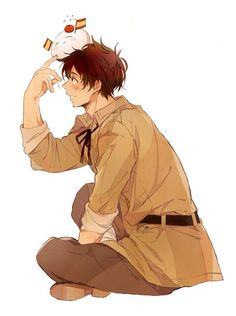 Day 18: i think Spain would make a cool...dad...wow that sounds weird...anyway yeah I guess because of the way he is with Romano and all. Haha
