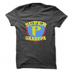 Super Grandpa - #cute gift #novio gift. ORDER NOW => https://www.sunfrog.com/LifeStyle/Super-Grandpa-DarkGrey-27866337-Guys.html?68278