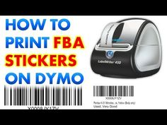 How to Print Amazon fnsku Labels on a Dymo Label Thermal Printer (e.g. Writer 450) - YouTube Use this tute. Start at 2:27. and 3:22.