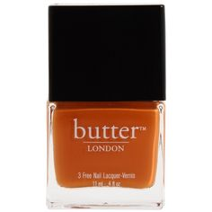 Butter London 3 Free Lacquer Nail Polish ($14) ❤ liked on Polyvore featuring beauty products, nail care, nail polish, makeup, beauty, nails, fillers, women, butter london nail lacquer and butter london nail polish