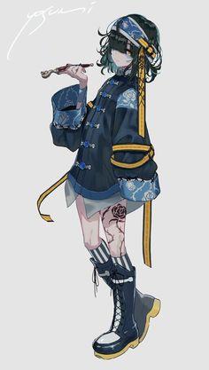 Art Anime Fille, Anime Art Girl, Manga Girl, Male Manga, Manga Anime, Manga Characters, Cute Characters, Manga Illustration, Character Illustration