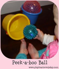 Play and Learn Everyday: Peek-a-boo Ball