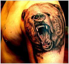 Resultado de imagem para bear water mark tattoo