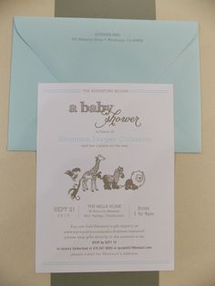 baby boy shower invitation #shopPAPERWHITE