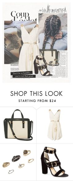 """Sem título #263"" by gabyfranco ❤ liked on Polyvore featuring Liz Claiborne, Rut&Circle, Topshop, Paul Andrew and Bela"