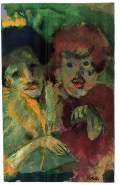 [ N ] Emil Nolde - Im Theater (At the Theatre) (1941-46) by Cea., via Flickr