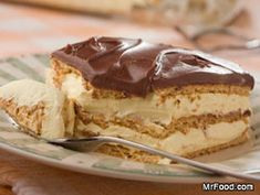 "It takes just 5 easy ingredients and absolutely no baking to make this luscious homemade Chocolate Eclair Cake! If you don't try this easy dessert, you're truly missing out."" I've been making this for years, was surprised when I joined pinterest that I never saw it until now!"
