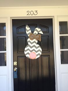Beautiful Easter Bunny Door Heart's Desire Simpsonville, SC