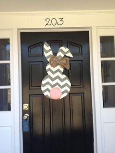 Beautiful Easter Bunny Door Heart's Desire Simpsonville, SC