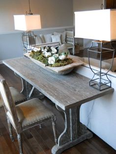 Wooden dough bowl, similar to the ones we carry instore look BEAUTIFUL in this shot