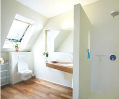 attic bathroom modern interior extension house
