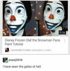 Disney, frozen, and memes: disney frozen olaf the snowman face Disney Frozen Olaf, Disney Pixar, Stupid Funny Memes, Funny Relatable Memes, Funny Stuff, Random Stuff, Funny Fails, Lol, Snowman Faces