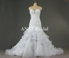 Mermaid Wedding Dress 2014 Wedding Gown Sexy Dress by AntsBridal, $199.00