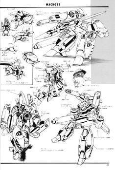Rocketumblr — VF-1 (Movie) Macross Valkyrie, Robotech Macross, Cyberpunk, Gundam, Gi Joe, Transformers, Robot Design, Mechanical Design, Animes Wallpapers