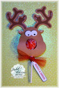 Paper Reindeer Pops - Google Search