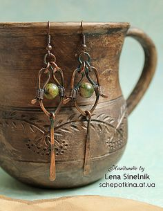 Craft & life - kulonchik and earrings