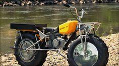 クラシックでしかもオフロードバイク、2輪駆動で悪路を走破する「ROKON TRAIL-BREAKER」 - DNA