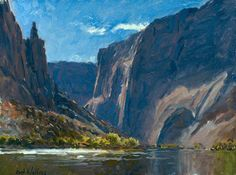 Springs Caprice by Curt Walters, 36 x 36. Content adapted from an article by Allison Malafronte. Arizona artist Curt Walters is well known and recognized for his plein air impressionist paintings of one of the most inspiring natural wonders in America–the Grand Canyon. But how does a plein air painter, no matter how talented, embody…