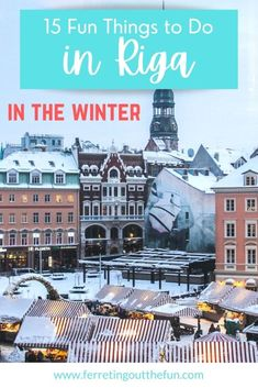 Fun activities and things to do in Riga in winter // Latvia Travel Guide Magical Vacations Travel, Vacation Trips, Travel Destinations, Hawaii Travel, Asia Travel, Travel Advice, Travel Guide, Travel Around Europe, Beautiful Places To Travel