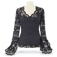 Shop for Gothic today at Pyramid Collection. Unique selections of Gothic available, shop Pyramid Collection today! Dark Fashion, Gothic Fashion, Unique Fashion, Romantic Fashion, Women's Fashion, Blazers, Unique Clothes For Women, Black Lace Tops, Lacy Tops
